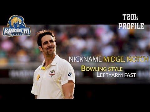 Mitchell Johnson – Player Profile – Karachi Kings