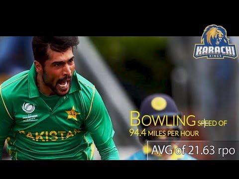 Mohammed Amir – Player Profile – Karachi Kings