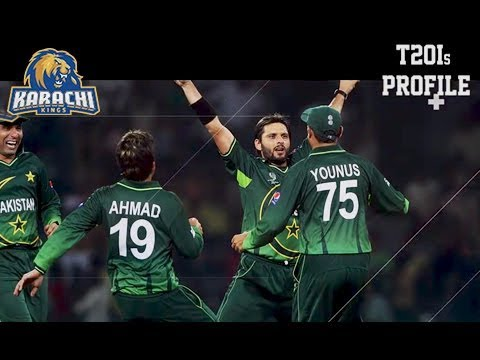 Shahid Afridi – Player Profile – Karachi Kings
