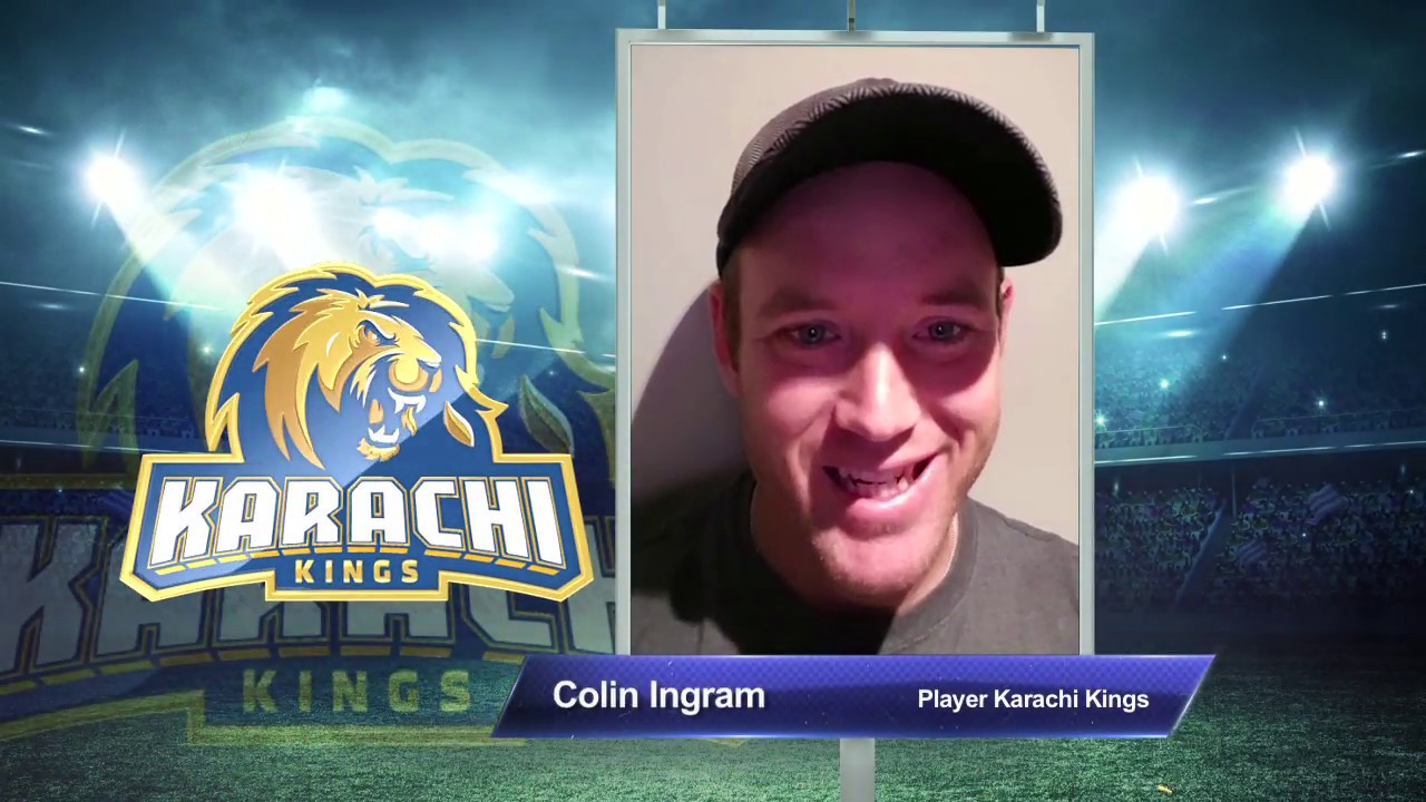 Colin Ingram  – Karachi Kings PSL Season 3
