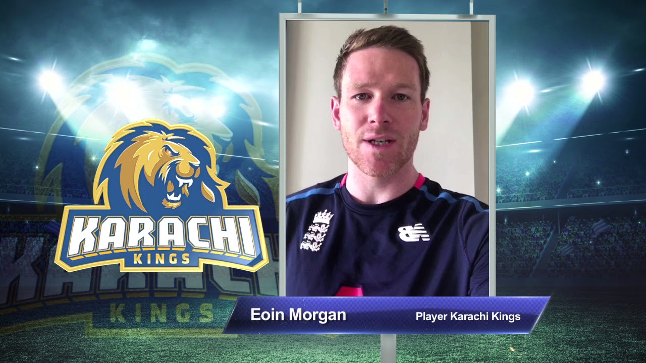 Eoin Morgan – Karachi Kings PSL Season#3