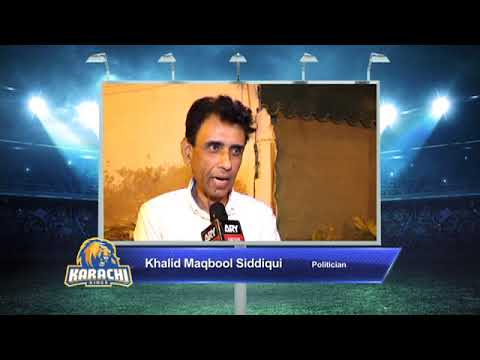 Khalid Maqbool – Karachi Kings PSL Season#3