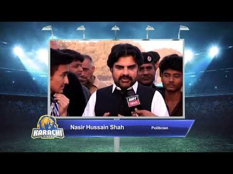 Nasir Hussain Shah – Karachi Kings PSL Season#3