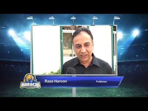 Raza Haroon – Karachi Kings PSL Season#3