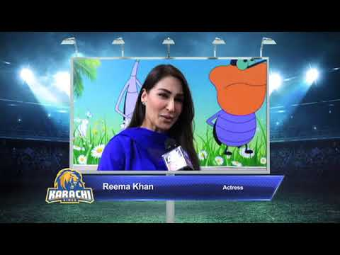 Reema Khan – Karachi Kings PSL Season#3
