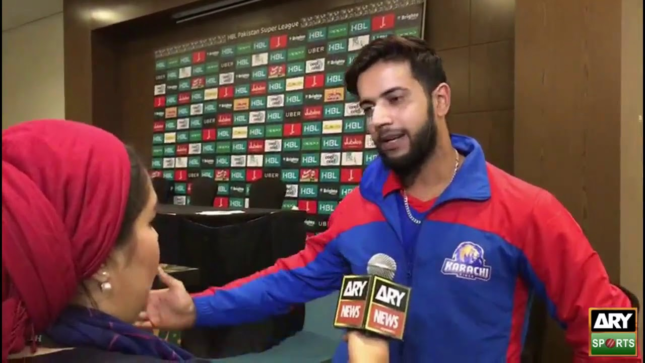 'I tell the youngsters to inspiration from Shahid Afridi,' Imad Wasim