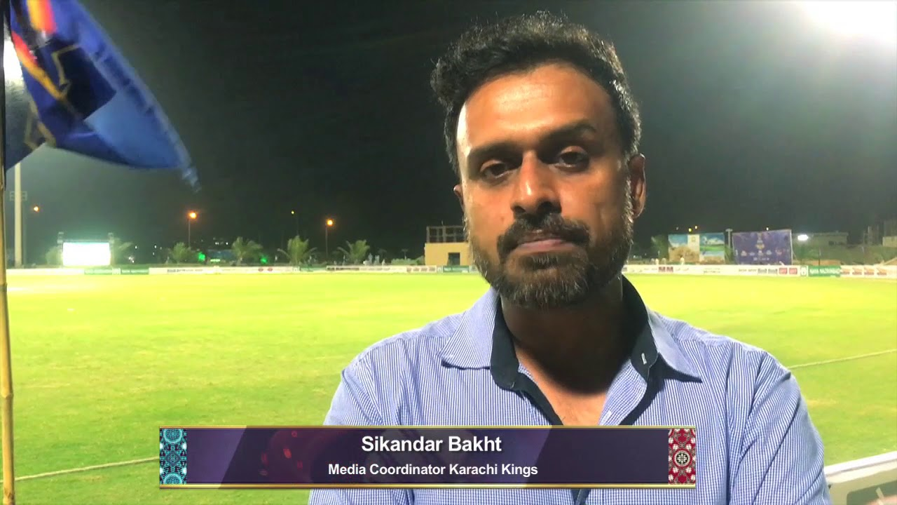 Sikendar Bakht sharing his views regarding Karachi kings' Sindh Ke Shehzade