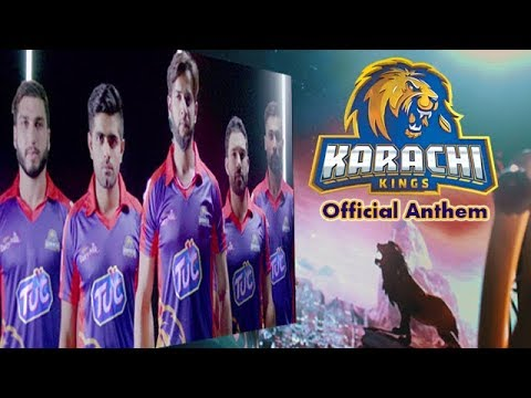KARACHI KINGS OFFICIAL ANTHEM 2019